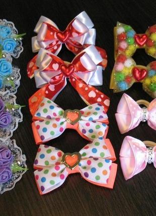 Набор бантиков для девочек. распродажа