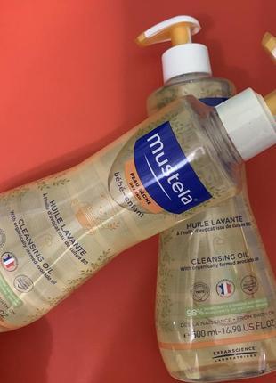 Mustela олія для вмивання для сухої шкіри 500 мл
