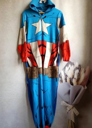Мужская пижама,  кигуруми р.xs-s  cedar wood state