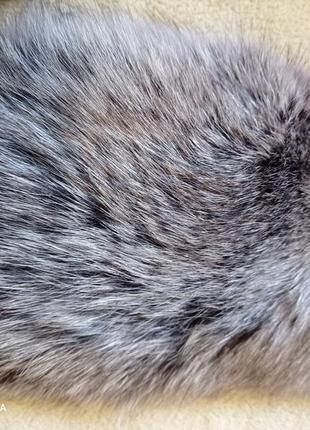 Мех воротник манжеты натуральный