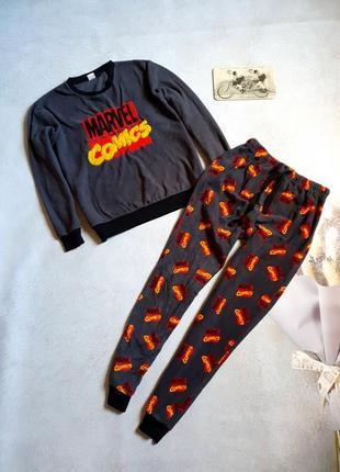 Мужская теплая пижама р.l primark