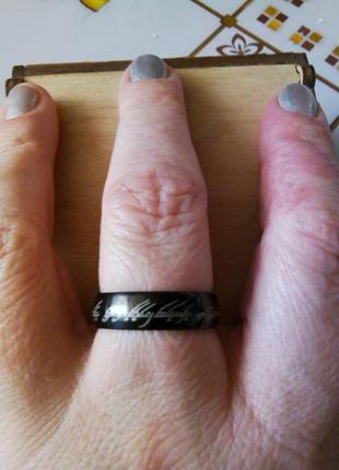 Кольцо титан.обмен.