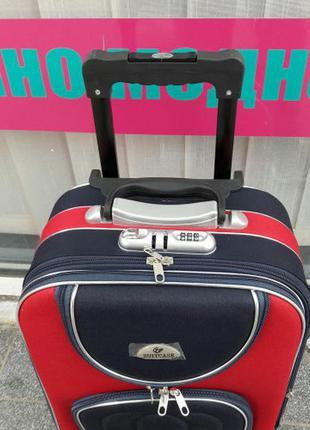 Большой красный чемодан валіза червона велика наложка без предоплат