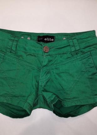Шортики зелёные / шорты