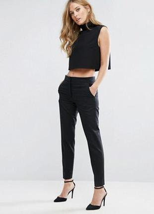 Сomptoir des cotonniers, тренд! новые! офисные брюки/ штаны, зауженные,  wool/ шерсть.