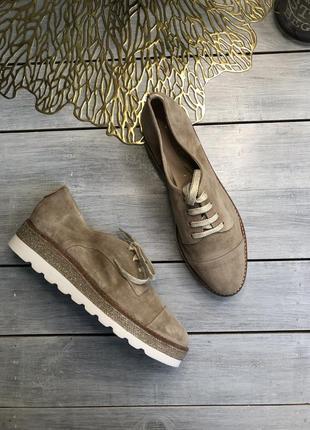 San marina замшевые туфли на шнуровке
