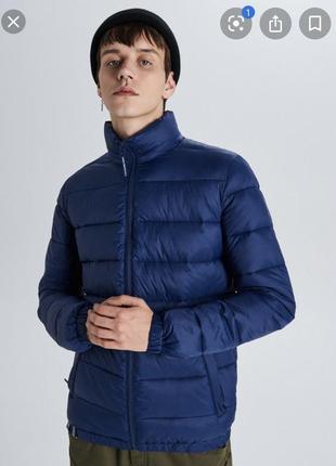 Мікропуховик, чоловіча зимова куртка, пуховик чоловічий