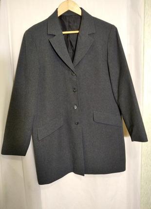 Скидка 1 дня . удлиненный пиджак жакет на подкладке большого размера morocco