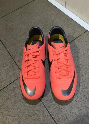 Копки бутси футзалки сороконожки бампи кросівки для футболу nike mercurial