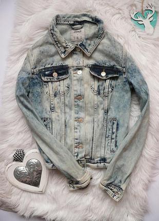 Крутая джинсовая куртка denim co размер с-м
