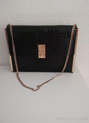 Крута ...стильна  класична лакова  сумка duna