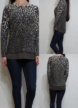 Легкий свитер джемпер трикотажная блуза