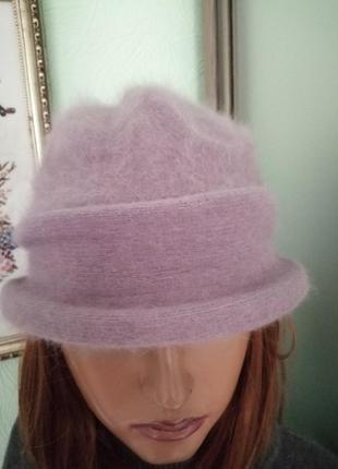 Ангоровая шляпка seeberger, германия