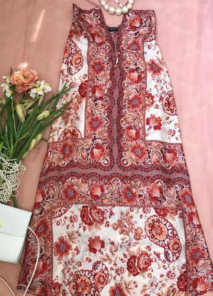 Шелковый длинный сарафан (платье) макси (в пол) sinequanone, s-m, 42-44,46, eur 36,38-40.