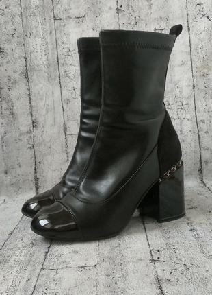 Демисезонные ботиночки в стиле chanel,37 размер