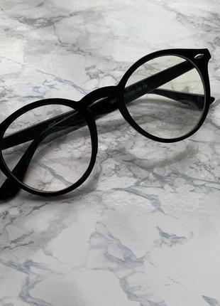 Круглые имиджевые очки sandro carsetti