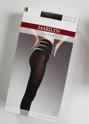 Женские колготки с высокой удобной талией marilyn comfort top 140