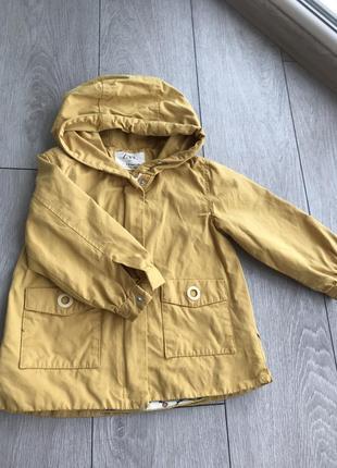 Курточка парка zara 98 2-3 года