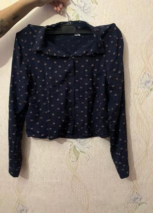 Укорочённая рубашка