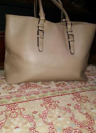 Фирменная сумка hobbs. оригинал.кожа