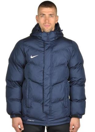 Оригинальная зимняя курточка пуховик nike team storm fit winter jacket