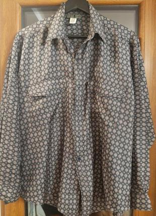 Рубашка шёлк