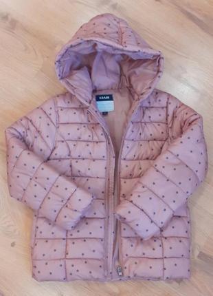 Куртка kiabi пудровая