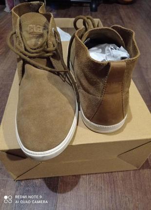 Ботинки кожан clae/вьетнам