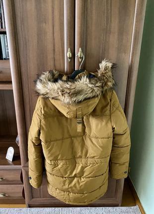 Куртка zara зимова