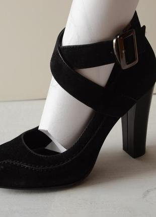 Туфли elmira на толстом каблуке