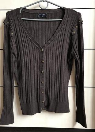Кадиган свитер шанель