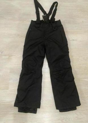 Лыжный мембранный термо-комбинезон, штаны на девочку crivit sports, германия, р.122-128