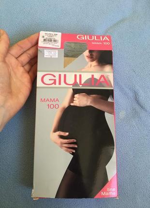 Колготки для беременных giulia р.4 100 ден