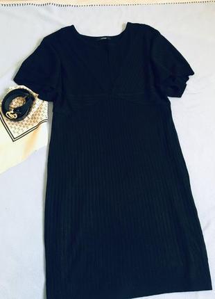 Тёплое платье, сарафан geоrge в рубчик