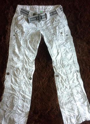 Пересылка в подарок!-шикарные джинсы-карго на наш 46-48 размер