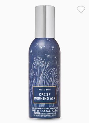 Фирменный аромат для дома crisp morning air room spray от bath&body works usa