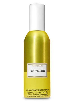 Фирменный аромат для дома limoncello room spray от bath&body works usa
