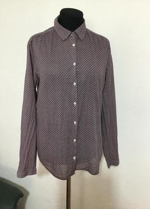 Фирменная, натуральная,органичный котоновая блуза