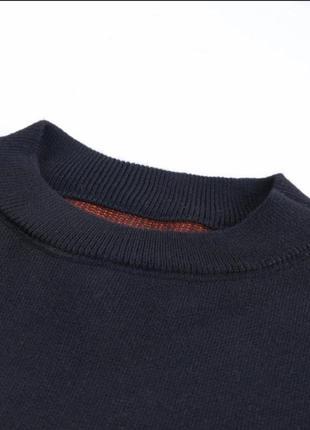 Черный оверсайз большой свитер с вышивкой рисунком скелет череп готический2 фото