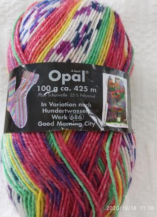 Пряжа opal ,германия