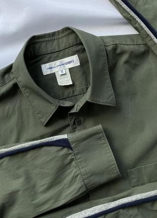 Крутая, стильная рубашка comme des garçons shirt (garcons)