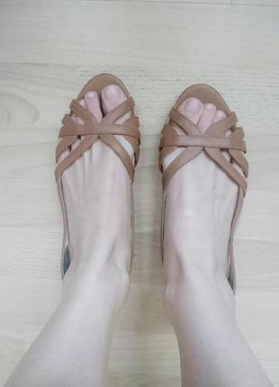Новые летние балетки