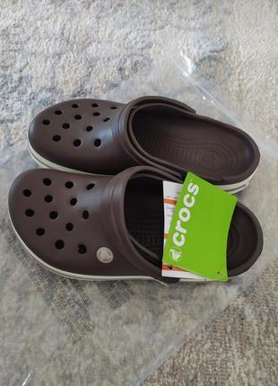 Crocs crocband мужские сабо crocs w9