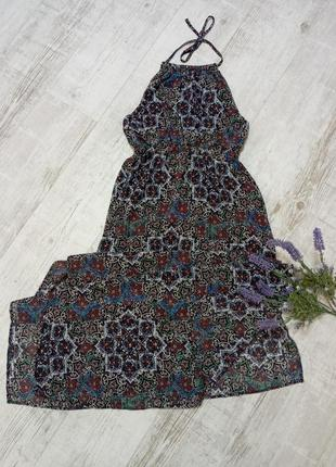Женское пляжное платье длинный сарафан фирменный  s.oliver s-m