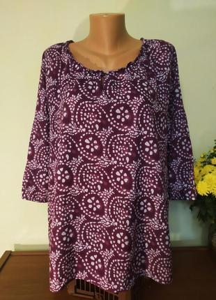 Красивая,суперлёгкая блуза большого  размера