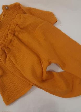 Муслінова піжама, дуже ніжна та натуральна тканина