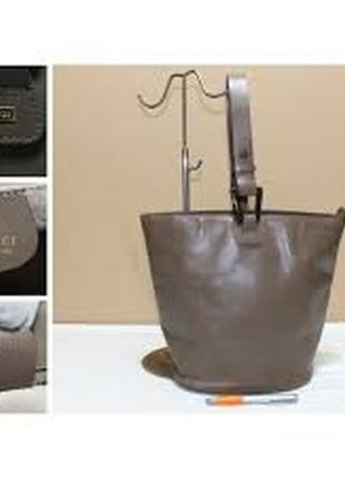 Оригинал!шикарная,стильная,кожаная сумка под реставрацию gucci