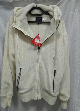 Толстовка на меху,толстовка,свитер куртка,теплый свитер