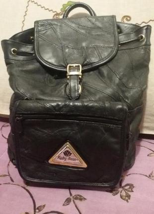 Рюкзак кожаный (есть нюанс)