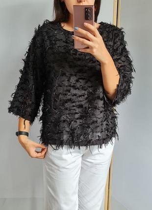 Стильная 🖤прямого кроя блуза 😊
